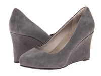 Rockport Seven To 7 W85 Wedge Pump Grey High Heels Gray