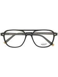 Moscot Bjorn Aviator Glasses Black