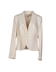 Mariella Rosati Blazers Light Grey