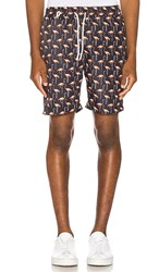 Publish Trigger Short In Black.