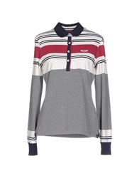 Galvanni Polo Shirts Grey