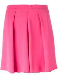 Mcq By Alexander Mcqueen Pleated Skirt Pink And Purple