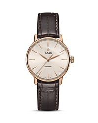 Rado Coupole Classic Automatic Watch 38Mm Beige Brown