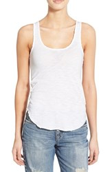 Joe's Jeans Women's Joe's 'Rain' Cotton Racerback Tank White