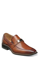 Stacy Adams Shaw Bit Loafer Cognac Leather