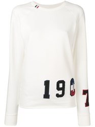 Rossignol Flocked Sweatshirt White
