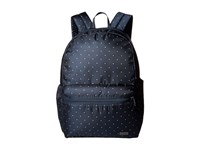 Pacsafe Daysafe Anti Theft Backpack Navy Polka Dot Backpack Bags