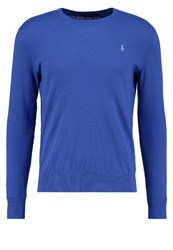 Polo Ralph Lauren Slim Fit Jumper Blue Legacy Royal Blue