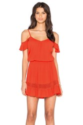 Heartloom Jina Dress Red