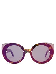 Retrosuperfuture Rita Acetate Sunglasses Tortoiseshell