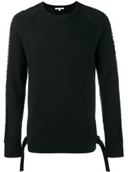 Helmut Lang Drop Needle Sweater Black