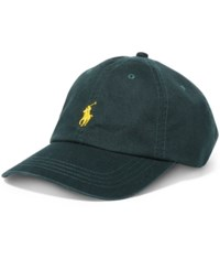 Polo Ralph Lauren Men's Classic Chino Sports Cap Green