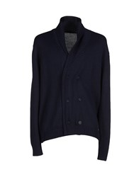 Hamaki Ho Knitwear Cardigans Men Dark Blue
