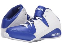 And 1 Rocket 4 Surf The Web White Silver Men's Basketball Shoes Blue