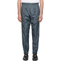 Off White Blue Light Nylon Jogging Lounge Pants