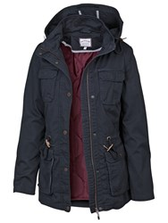 Fat Face Evesham Hooded Jacket Navy