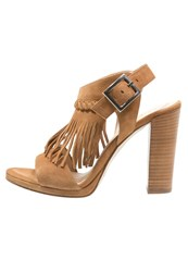 Unisa Sandals Natural Cognac