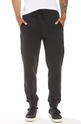 Hudson Jeans Slim Fit French Terry Jogger Pants Black