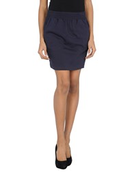 American Apparel Skirts Mini Skirts Women Dark Blue