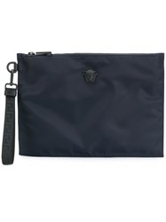 Versace Medusa Clutch Bag Blue