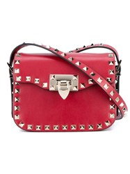 Valentino Garavani Small 'Rockstud' Cross Body Bag Red