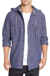 Imperial Motion Men's 'Oslo' Hooded Woven Shirt