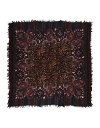 Etro Square Scarves Military Green