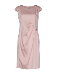 Nine Dresses Knee Length Dresses Women Pink