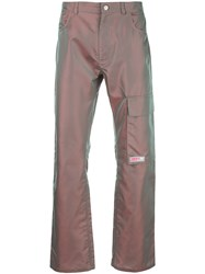 Misbhv Europa Holographic Cargo Trousers 60
