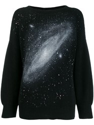 Pinko Oversized Galaxy Jumper Black