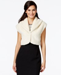 Alfani Prima Cropped Faux Fur Bolero Sweater Only At Macy's Cloud