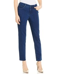 Charter Club Petite Bristol Majestic Wash Skinny Ankle Jeans Only At Macy's