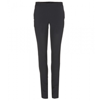 The Row Franklin Stretch Wool Skinny Trousers Navy