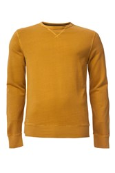 Tommy Hilfiger Basic Garmet Dyed Sweater Mustard Yellow