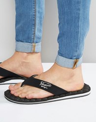 Original Penguin Flip Flops Black