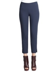 Brunello Cucinelli Stretch Side Zip Pants Navy Black