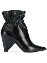 Aldo Castagna Elasticated Ankle Boots Black