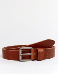 Esprit Belt Leather Chino Brown