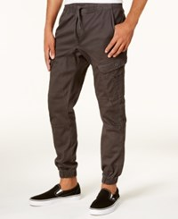 Ring Of Fire Men's Stretch Jogger Pants Created For Macy's Charcoal