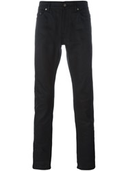 Saint Laurent Straight Leg Jeans Black