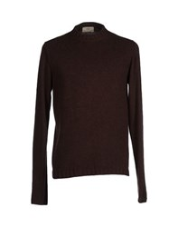 S.O.H.O New York Soho Knitwear Jumpers Men Dark Brown