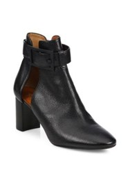 Aquatalia By Marvin K Valli Cutout Leather Booties Black