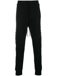 Lost And Found Rooms Ribbed Track Pants Black