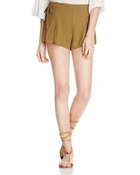 Free People Silver Springs Shorts Green
