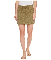 Sanctuary Lily Skirt Palmaflage Women's Skirt Yellow