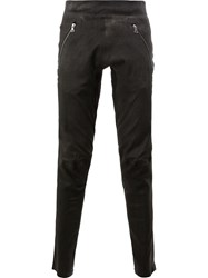 Isaac Sellam Experience Zipped Pocket Trousers Black