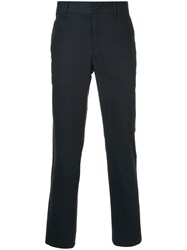 Ck Calvin Klein Concealed Front Chinos Blue