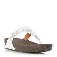 Fitflop Aztek Chada Wedge Sandals White