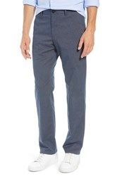 Bonobos Straight Fit Stretch Washed Chinos Navy Heather