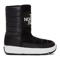 The North Face Black Ozone Park Pull On Boots